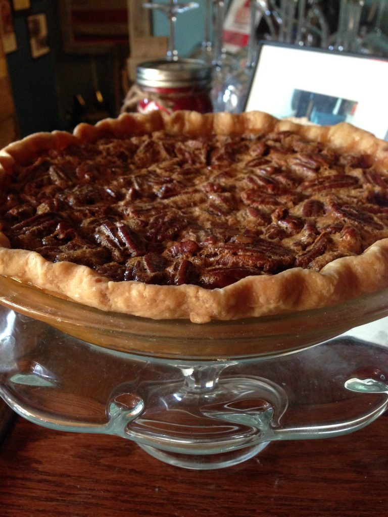 Jane's Bourbon Pecan Pie