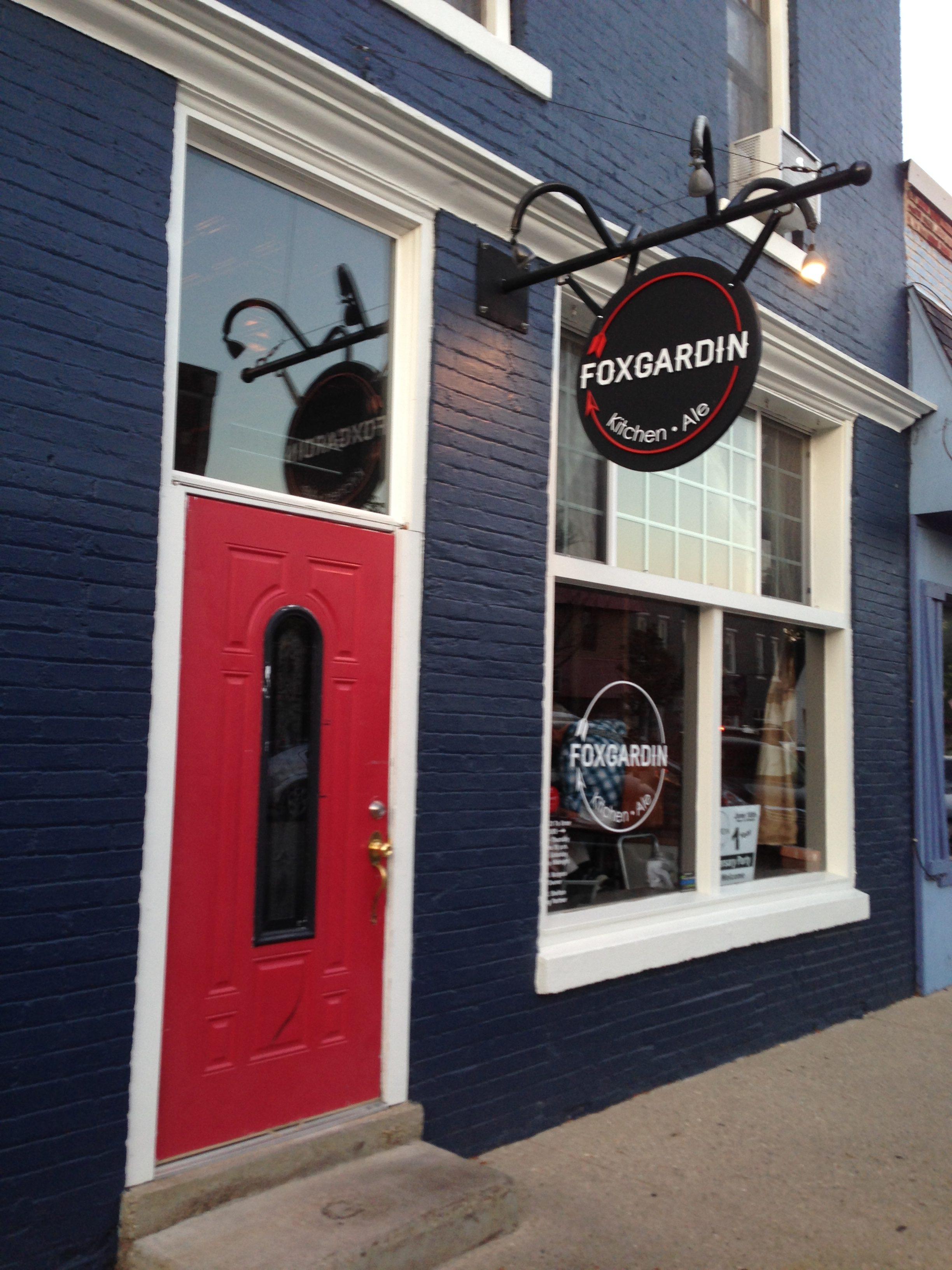 Foxgardin - Kitchen & Ale 215 S. Main St. Fortville, Indiana